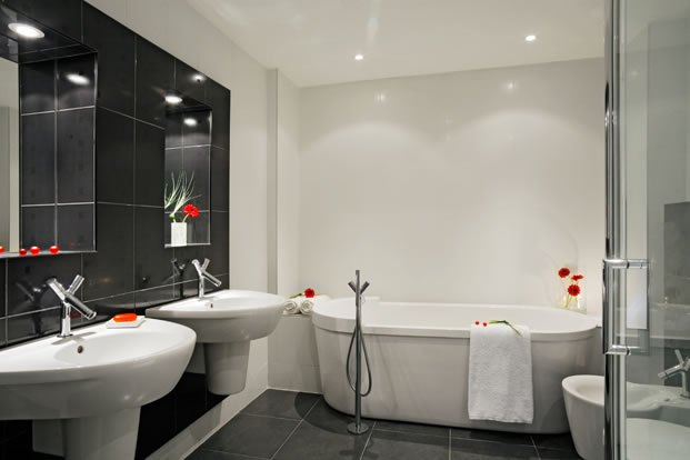 design-cernobila-koupelna