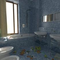 denní světlo v koupelně