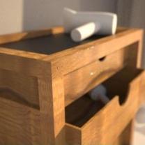 teakový koupelnový  nábytek U05