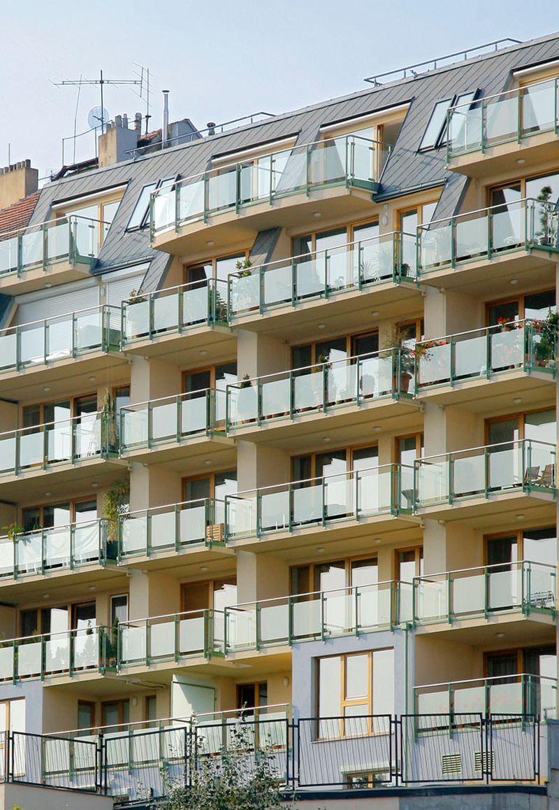 Developerský projekt, nové byty praha jižní terasy