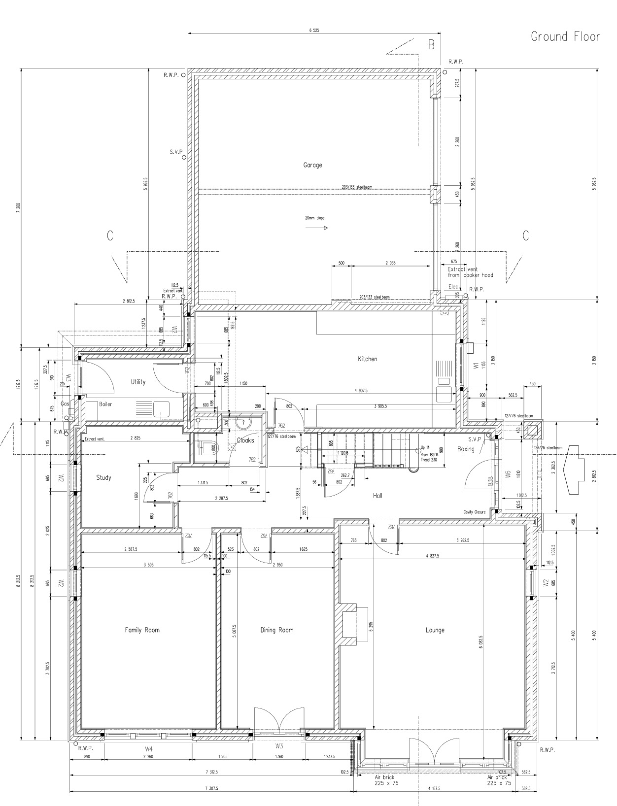 Projekt Rodinneho Domu Yorkshire Anglie D A V I D Architekti
