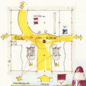 Architektonický koncept pva výstaviště