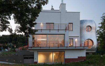 rekonstrukce funkcionalistické vily