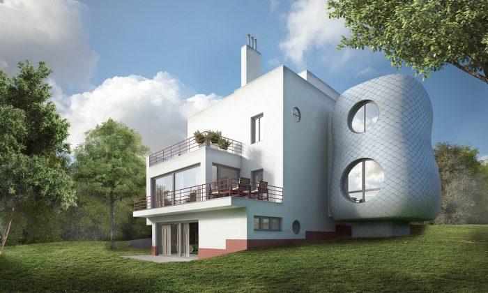 rekonstrukce prvorepublikové vily-domu